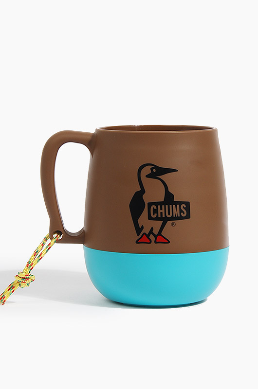 CHUMS Big Round Camp Mug Brown/Teal