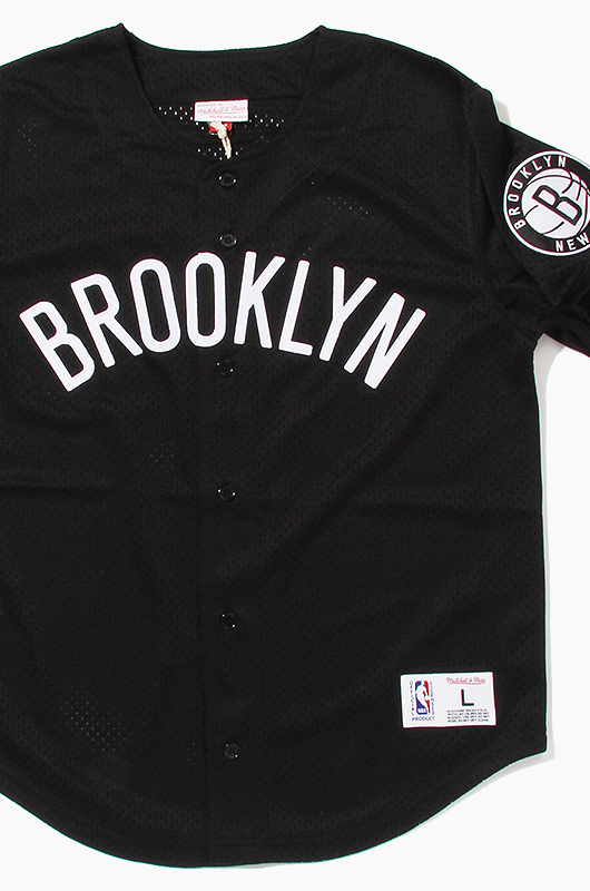 M&N Mesh Jersey Brooklyn Nets (Black)
