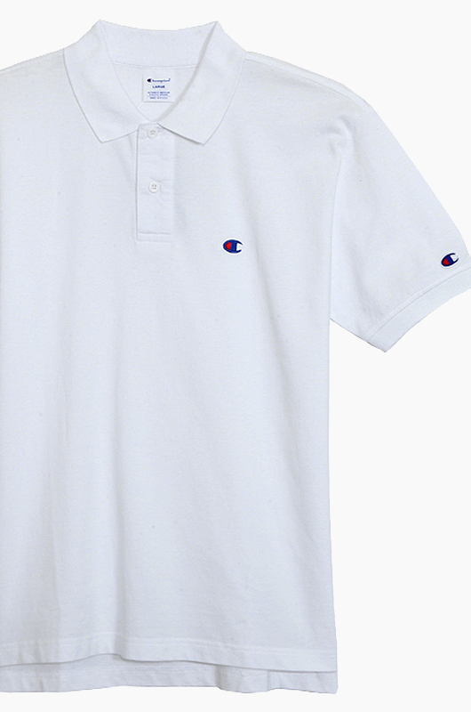 CHAMPION (JAPAN) Polo Shirt (C3-F356) White