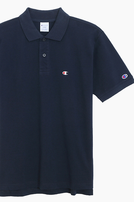 CHAMPION (JAPAN) Polo Shirt (C3-F356) Navy