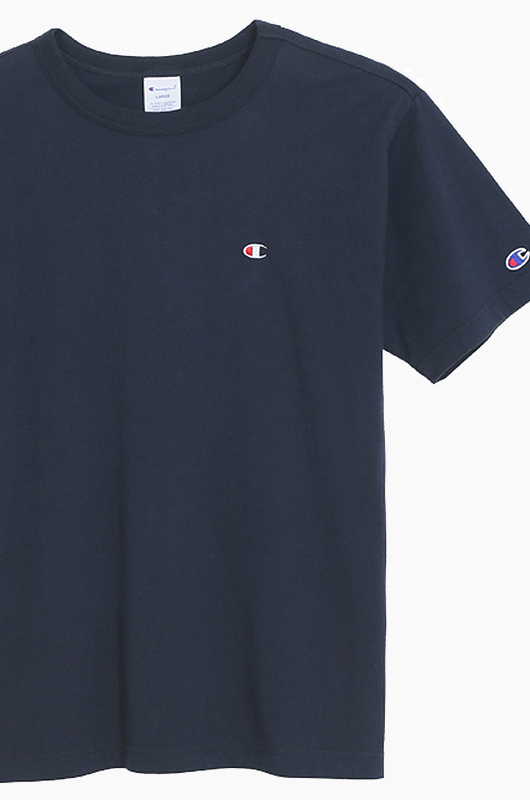 CHAMPION (JAPAN)Basic T-Shirt (C3-H359) Navy
