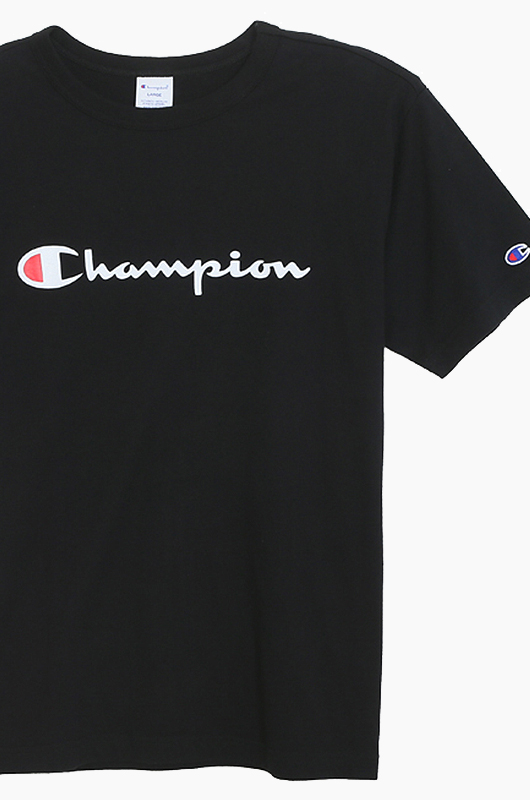 CHAMPION (JAPAN)Basic T-Shirt (C3-H374) Black