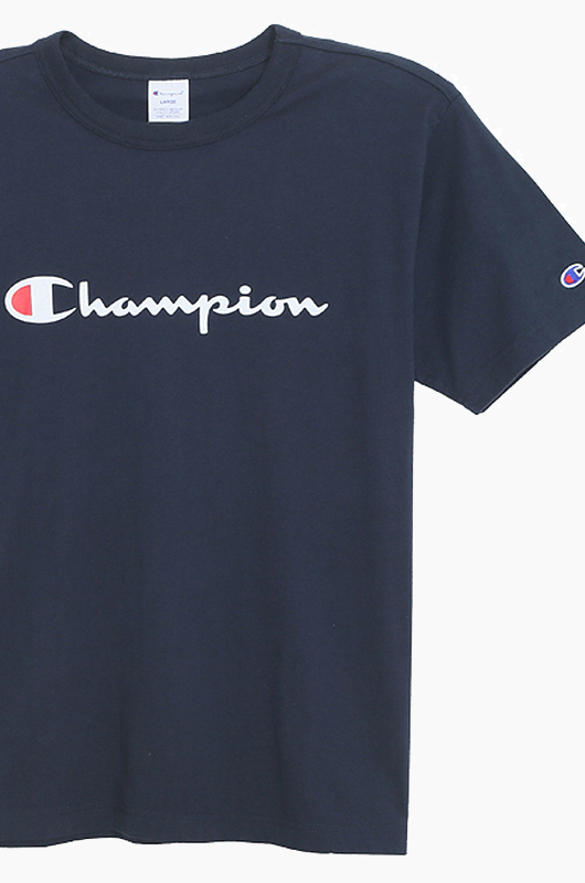CHAMPION (JAPAN)Basic T-Shirt (C3-H374) Navy