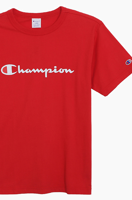 CHAMPION (JAPAN) Basic T-Shirt (C3-H374) Red