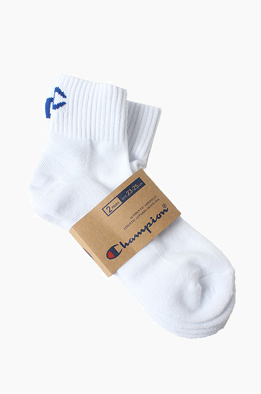 CHAMPION Champion Half Socks 2Pack White