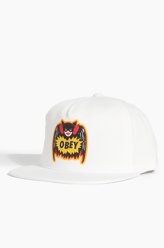 OBEY Pulp Comic Snapback White