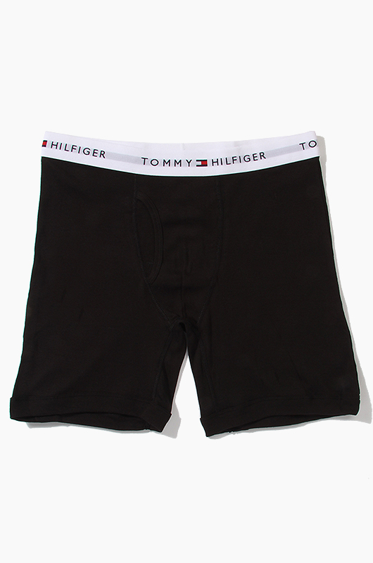 TOMMY HILFIGER Men's Boxer Black