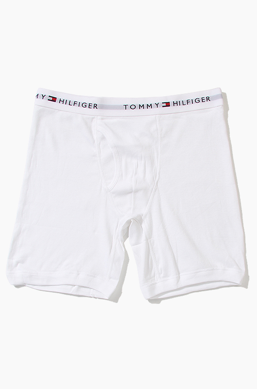 TOMMY HILFIGER Men's Boxer White