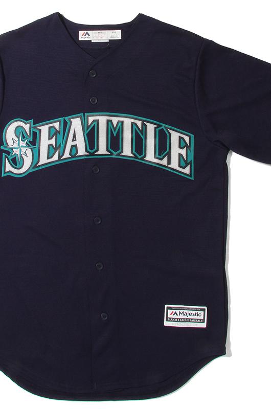 MAJESTIC Seattle Mariners Jersey (Navy)