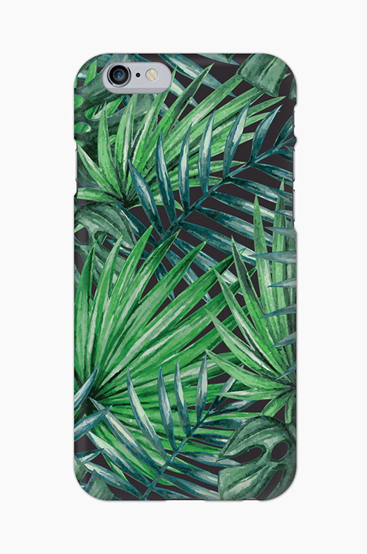 CHILLN Graphic Case Palm Leaves