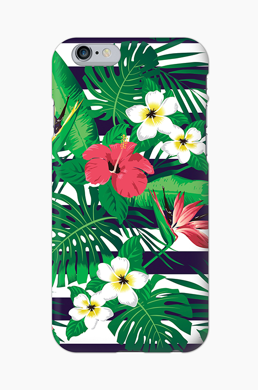 CHILLN Graphic Case Tropical Flowers