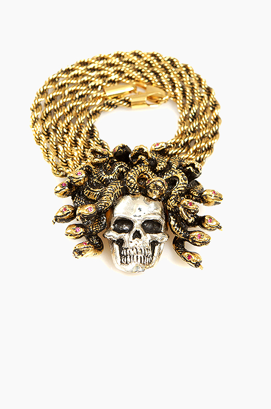 HAN CHOLO Medusa Necklace Silver/Gold