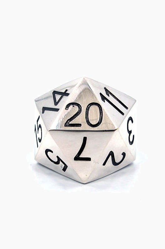 HAN CHOLO Dice Ring Silver