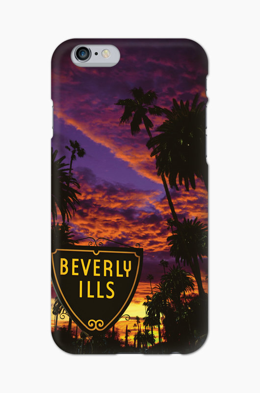 808 Beverly Ills Graphic Case Sunset