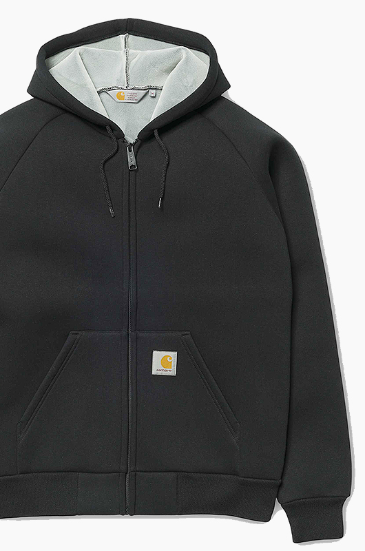 CARHARTT-WIP Car-Lux Hooded Jacket Black/Grey