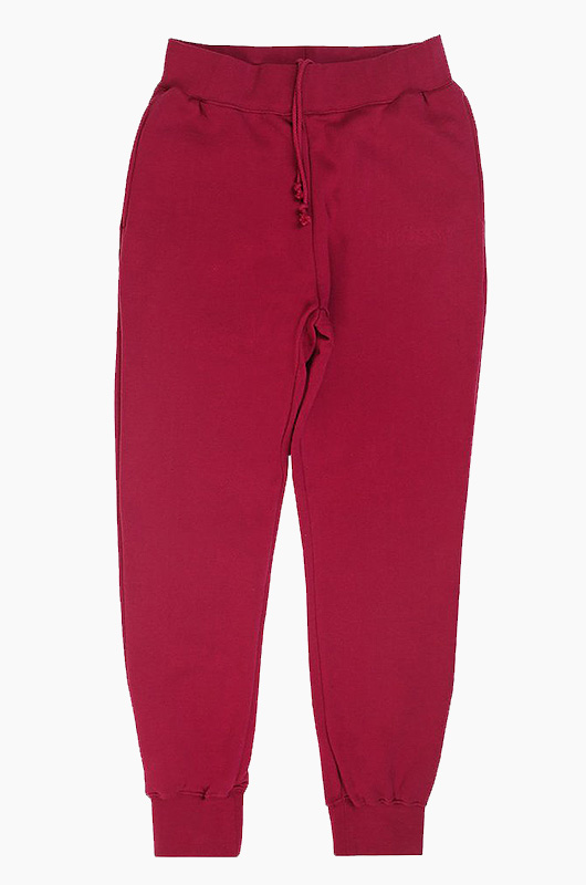 STUSSY Embossed App Fleece Pants Grape