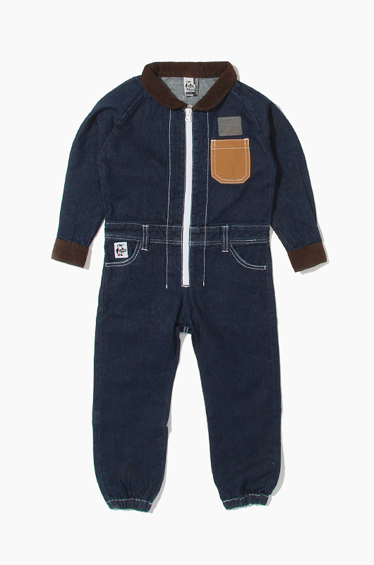 CHUMS Kids Hurricane Coverall Booby Indigo