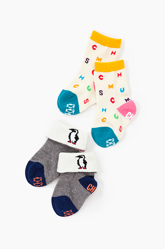 CHUMS Baby Booby Socks A set