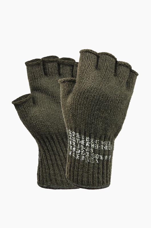 ROTHCO Wool  Fingerless Glove Olive