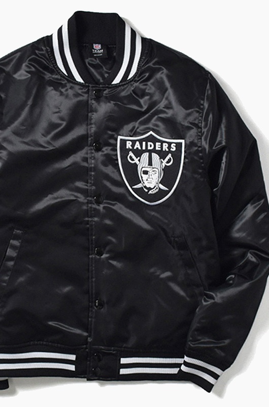 MAJESTIC Team Logo Stadium Jacket Raiders