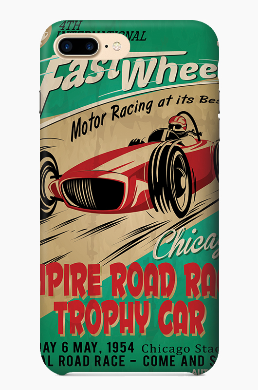CHILLN Graphic Case Vintage Car Poster1