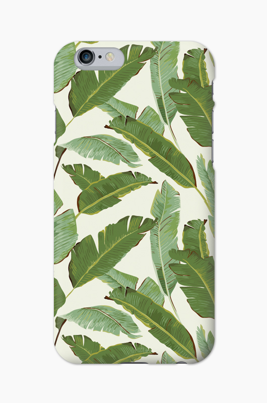 CHILLN Graphic Case Palm Leaves2