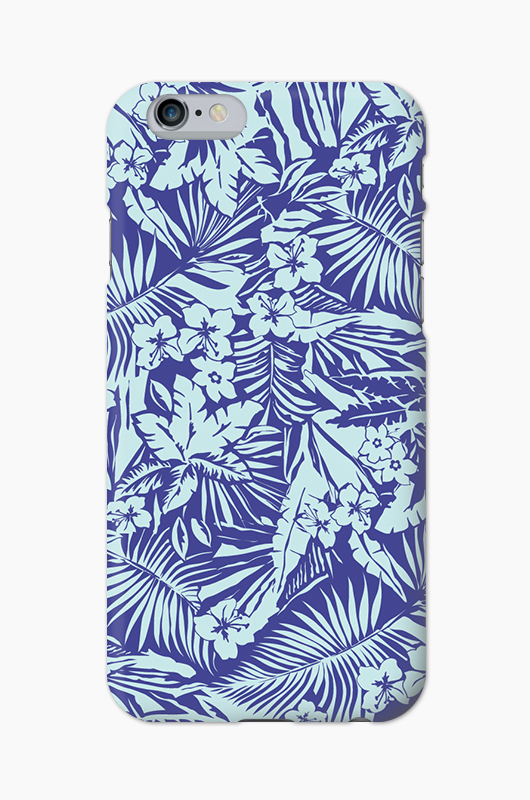 CHILLN Graphic Case Blue Tropical