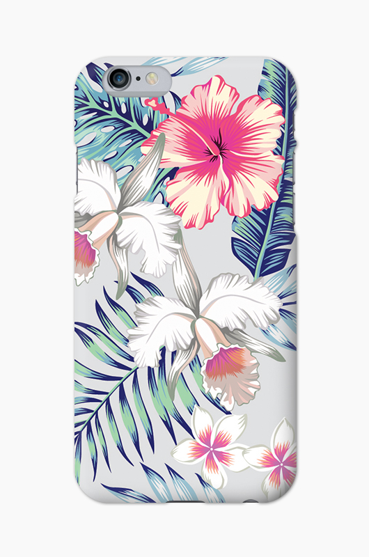 CHILLN Graphic Case Tropical Flowers2