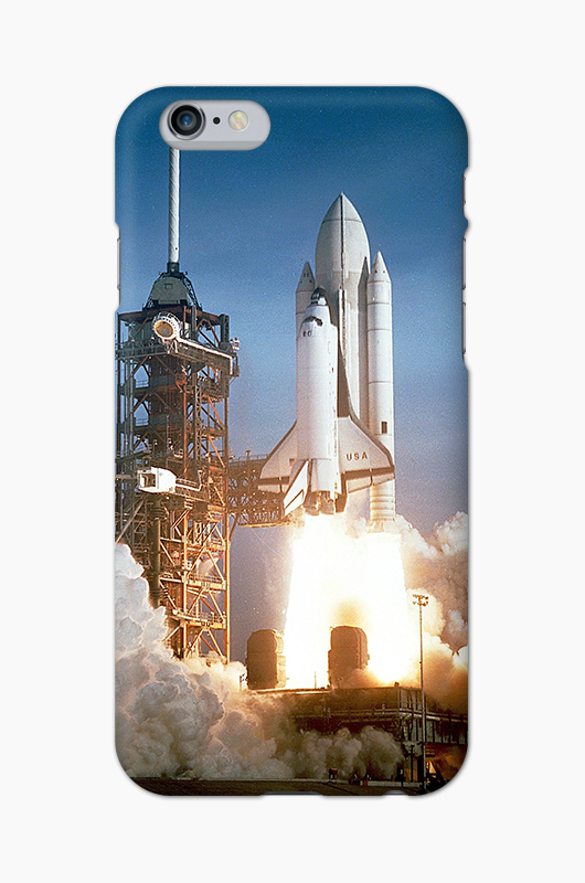 CHILLN Graphic Case Space Shuttle