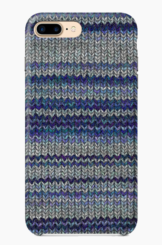 CHILLN Graphic Case Wool Blue