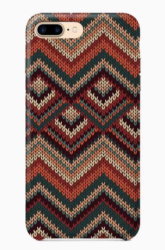 CHILLN Graphic Case Knit Aztec