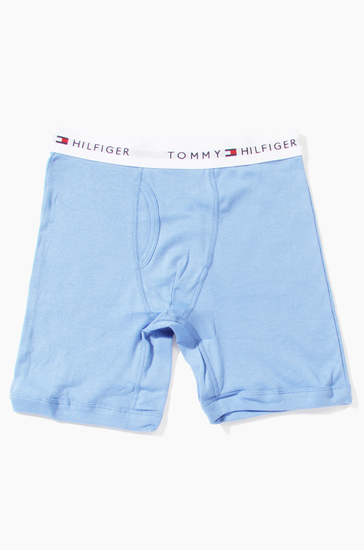 TOMMY HILFIGER Men's Boxer Pastel Blue