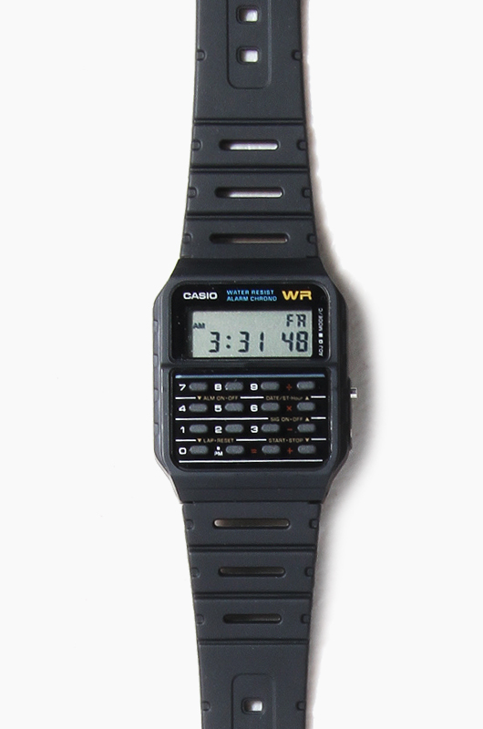 CASIO CA-53W-1Z Black