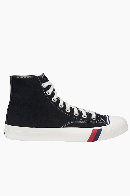 PRO KEDS Royal Hi Classic Canvas Black/White