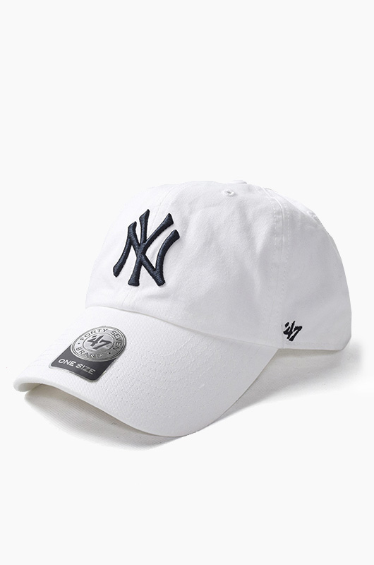 47BRAND MLB Clean Up Yankees(White)