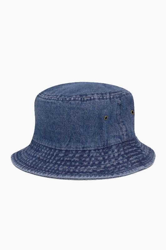 NEWHATTAN Denim Bucket Dark Blue