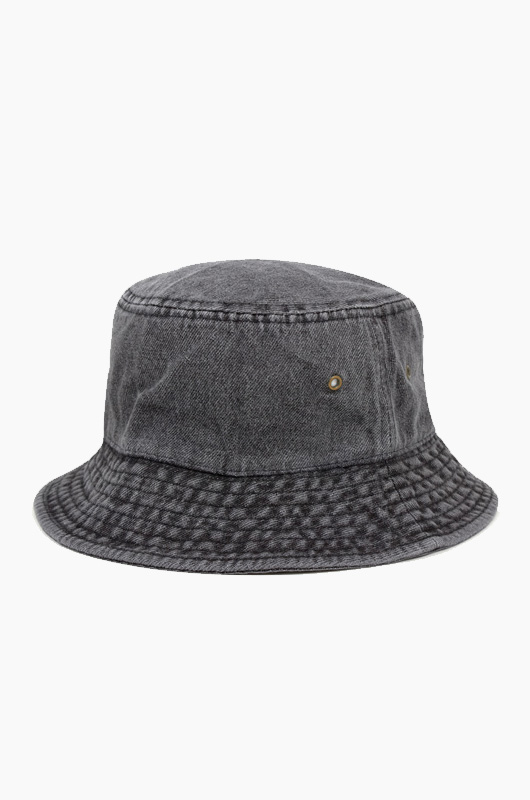 NEWHATTAN Denim Bucket Black
