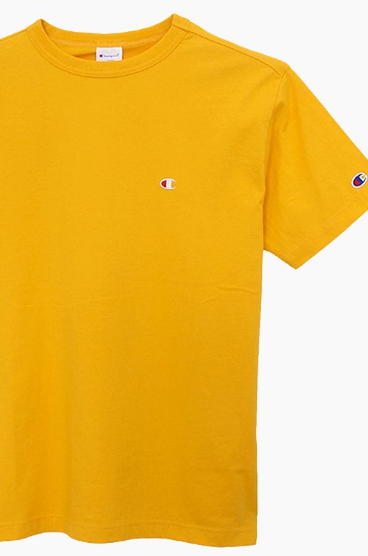 CHAMPION (JAPAN) Basic T-Shirt (C3-H359) Gold