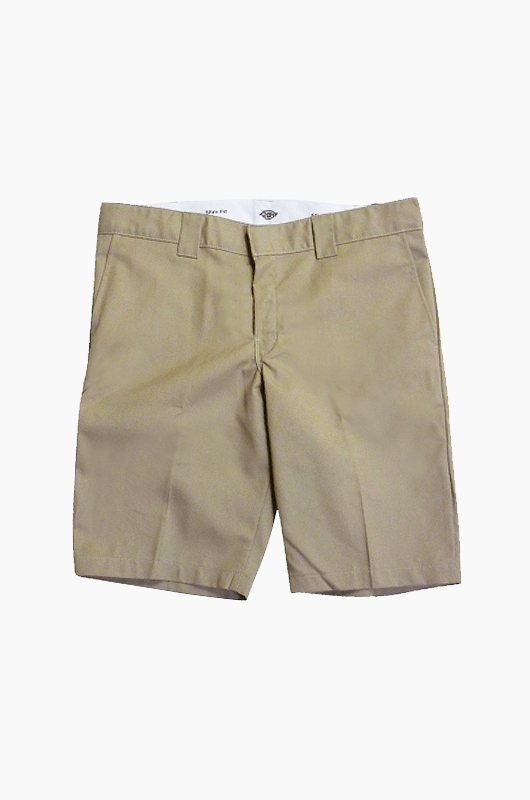 "DICKIES 11""Slim Work Short Khaki_849"