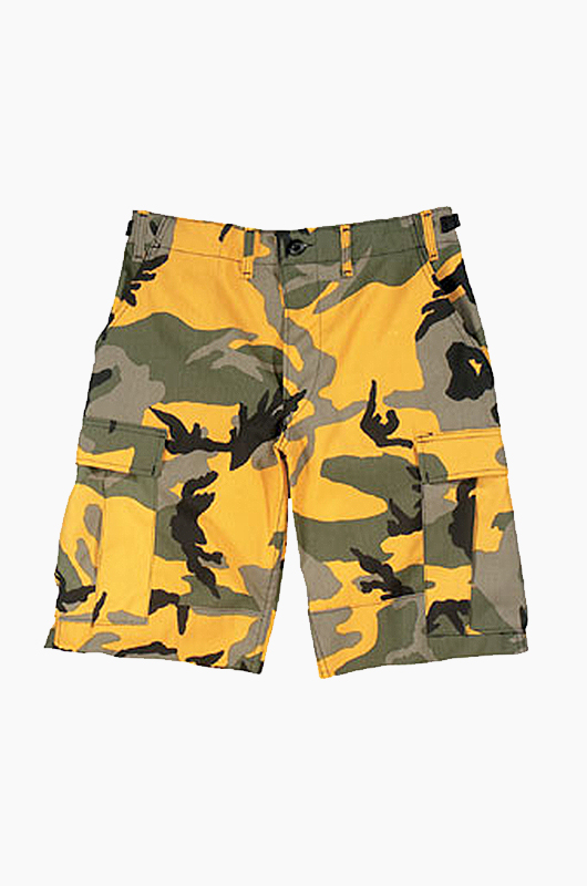 ROTHCO BDU Short Yellow Camo