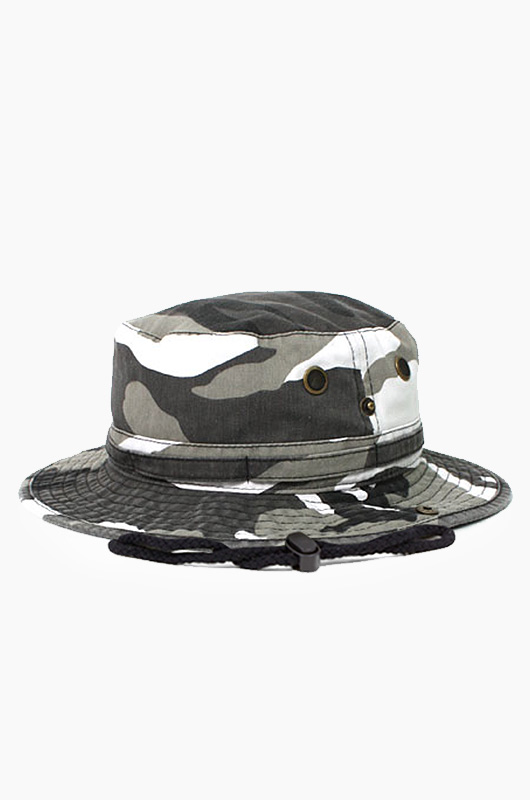 NEWHATTAN Safari Hat City Camo