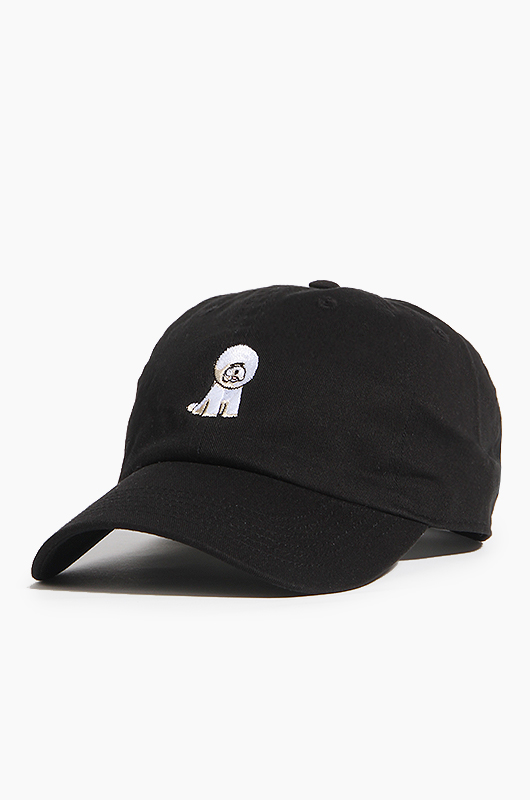 WARF Cotton Ballcap Bichon Black