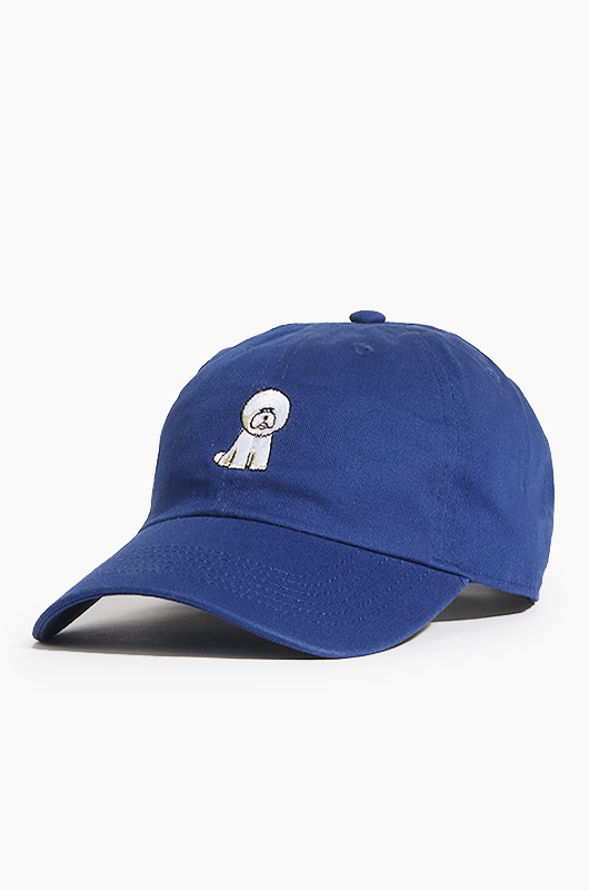 WARF Cotton Ballcap Bichon R.Blue