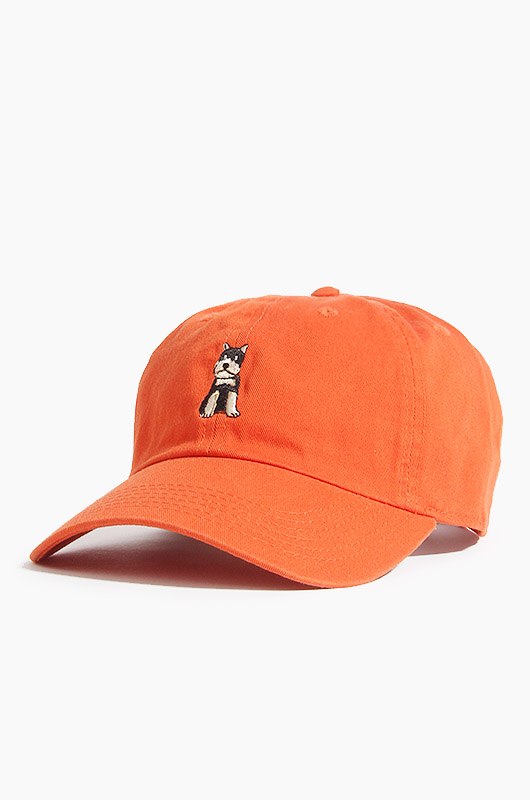 WARF Cotton Ballcap Schnauzer Orange