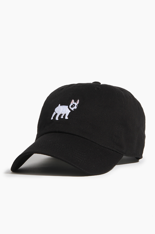 WARF Cotton Ballcap Bull Terrier Black