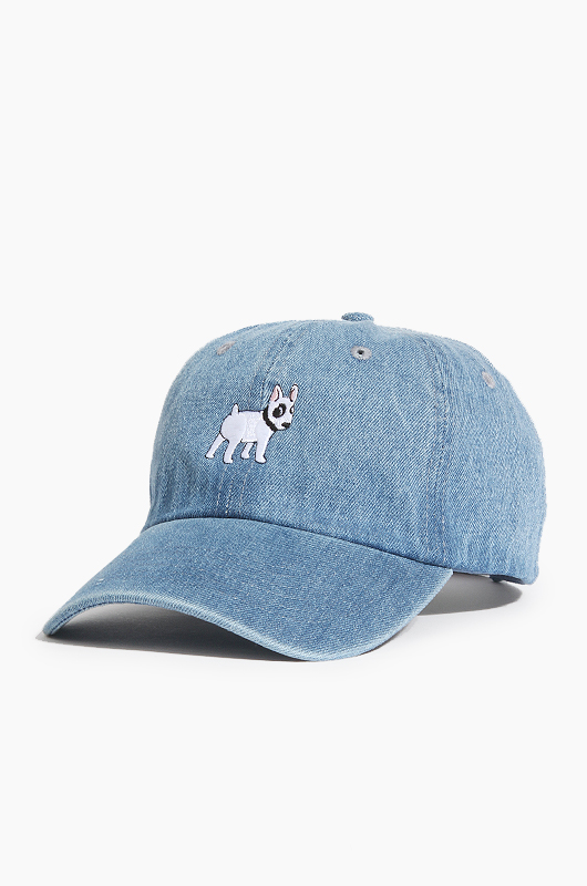 WARF Cotton Ballcap Bull Terrier Lt.Denim