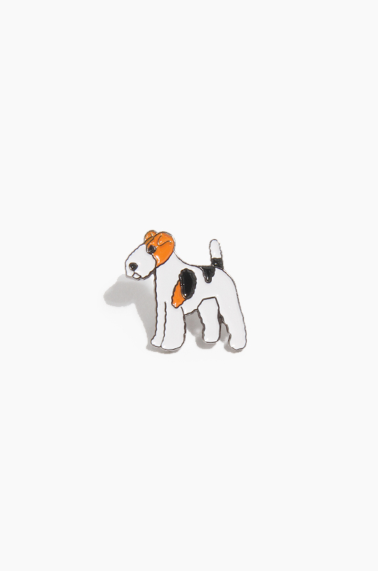 WARF Fox Terrier Pin