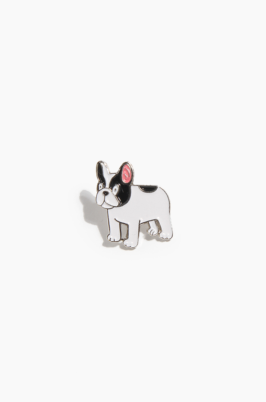 WARF Boston Terrier Pin