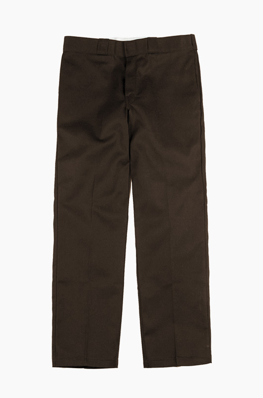 DICKIES 874 Original Fit Pants Dk.Brown
