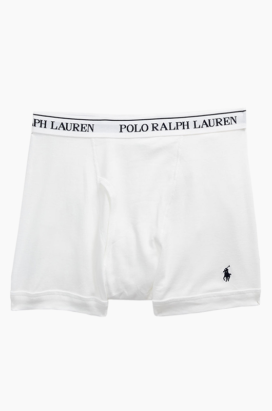 POLO Boxer Brief White